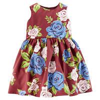 """Платье Carter's """"Цветочное"""" , фото 1"""