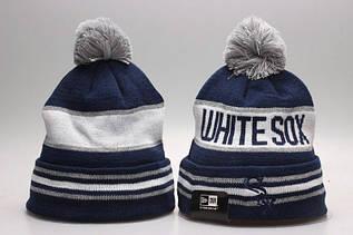Шапка зимняя Chicago White Sox / SPK-198 (Реплика)