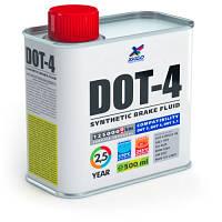 Тормозная жидкость DOT-4 - 500мл.