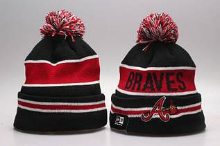 Шапка зимняя Atlanta Braves / SPK-199 (Реплика)