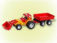 Трактор с ковшом и прицепом Bamsic 007/2 (4)