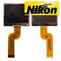 Дисплей (экран) для цифрового фотоаппарата Nikon L2/L3, изогнутый шлейф, оригинал