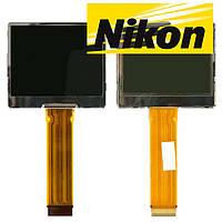 Дисплей (LCD) для цифрового фотоаппарата Nikon L2/L3, прямой шлейф, оригинал