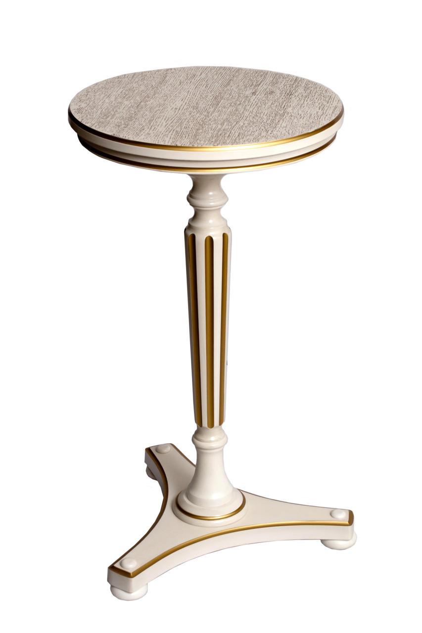 """Кавовий дерев'яний столик від виробника """"АМФОРА"""""""