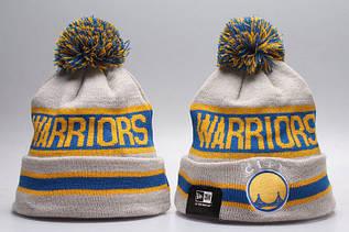 Шапка зимняя San Francisco Warriors / SPK-215 (Реплика)