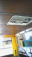Внутренняя обшивка салона автобуса ( замена: саморезы, заклепки)