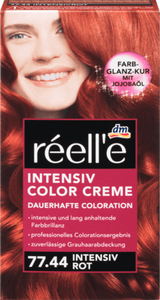 Крем - краска для волос réell'e Intensive Color Creme Intensiv Rot, 77.44 ( интенсивно красный)