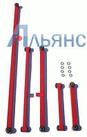 Реактивные штанги ( тяги) ВАЗ 2101-07 на 2108 сайлентблоках