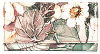 Лаковый оригинальный прочный кожаный качественный женский кошелек H.VERDE art. 2030-E17 цветы