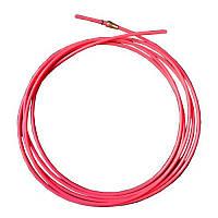 Тефлоновый подающий канал для полуавтомата красный, 3,2-х метровый (диаметр 1,0-1,2