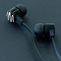 Гарнитура вакуумная AIYALE A 24 с микрофоном для телефона Lenovo Samsung (Черный)