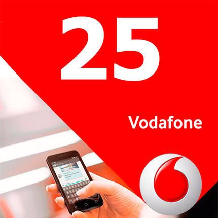 Стартовые пакеты Vodafone 25 для планшета телефона связи звонков международного общения, фото 2