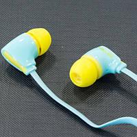 Гарнитура AIYALE A52 (Синий) наушники с микрофоном вакуумные для самсунга айфона гелекси 3,5 samsung iphone
