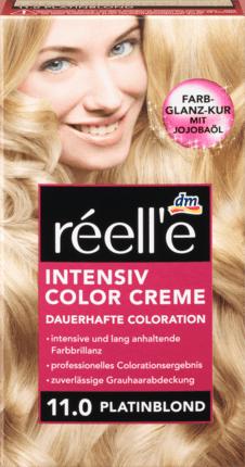 Крем - краска для волос réell'e Intensive Color Creme Platinblond, 11.0 (светлый блонд)