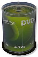 Диски DVD-R Firtech 4.7Gb 16X Cake 100 штук