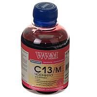 Чернила wwm для canon cl-511С/cl-513С/cli-521m 200г magenta Водорастворимые (c13/m) с повышенной светостойкостью