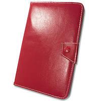 Чехол - книжка - подставка универсальный для планшетов 8 / 9 дюймов Xiaomi Lenovo Samsung (Красный)