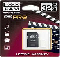 ➤Карта памяти GOODRAM 32 GB SDHC Class 10 для передачи и хранения информации