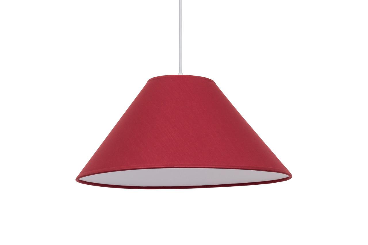 Підвісний світильник Конус D380 червоний
