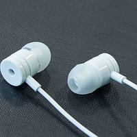 Гарнитура вакуумная с микрофоном MEIA M9 (Белый) для айфона самсунга samsung lenovo xiaomi 3,5