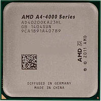 Процессор AMD A4-4020 AD4020OKHL BOX (Socket FM2+) 3.2GHz/5000MHz/1MB для настольного компьютера