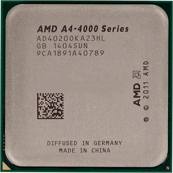 Процессор AMD A4-4020 AD4020OKHL BOX (Socket FM2+) 3.2GHz/5000MHz/1MB для настольного компьютера