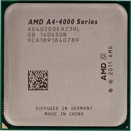 Процессор AMD A4-4020 AD4020OKHL BOX (Socket FM2+) 3.2GHz/5000MHz/1MB для персонального компьютера, фото 2