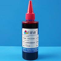 Чернила CA 100 мл (Розовый) водорастворимые для картриджей струйного принтера Canon Epson и СНПЧ