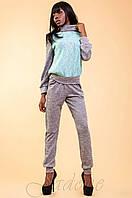 Женский спортивный костюм Элис бирюзовый 42-48 размеры Jadone