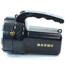 Фонарь переносной светодиодный E-SMART KF туристический поисковой (Черный), фото 2