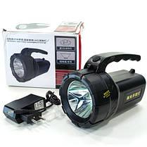 Фонарь переносной светодиодный E-SMART KF туристический поисковой (Черный), фото 3