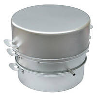 Соковарка кухонная ДЕМИДОВ 5 л алюминиевая для приготовления сока