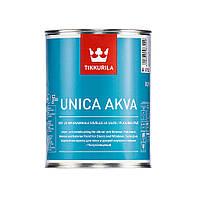 Уника Аква - Unica Akva  Полуглянцевая акрилатная краска. Используется для окраски дверей и оконных рам 0,9л