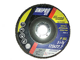 "Круг лепестковый тарельчатый ""Dnipro"" Р80 т29 тип2"