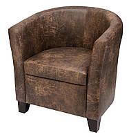 """Кожаное кресло """"Оникс"""", фото 1"""
