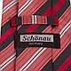 Удивительный мужской широкий галстук SCHONAU & HOUCKEN (ШЕНАУ & ХОЙКЕН) FAREPS-68 красный, фото 3