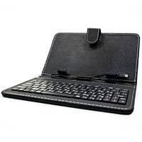 Чехол с русской клавиатурой для планшета 7 дюймов (Черный) Леново Samsung Xiaomi