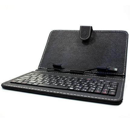 Чехол с русской клавиатурой для планшета 7 дюймов (Черный) Леново Samsung Xiaomi, фото 2