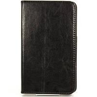 ★Чехол-книжка 7 дюймов LESKO Call Black универсальный для планшета