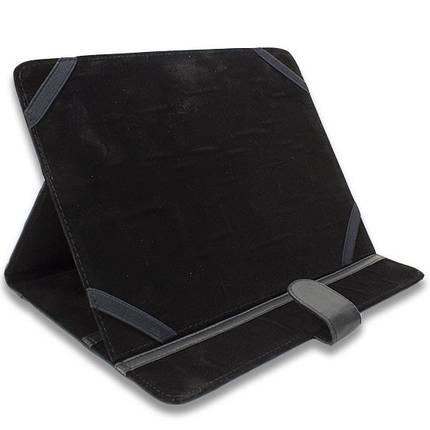 Чехол - книжка 8 '' Mat (Черный) универсальный для планшетов 8 дюймов samsung xiaomi lenovo, фото 2