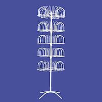 Стойка-вертушка под шапки на 105 позиций
