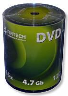 Диски DVD-R Firtech 4.7Gb 16X Shrink 100 штук