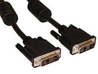 Кабель ATcom DVI to DVI 24/24 (pin 24+1) , 1.8м