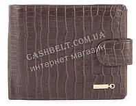 Прочный вместительный кошелек портмоне из натуральной качественной кожи  SALFEITE art. 2233SL-D72 коричневый