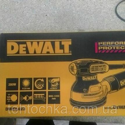 Эксцентриковая DeWALT DWE6423, фото 2