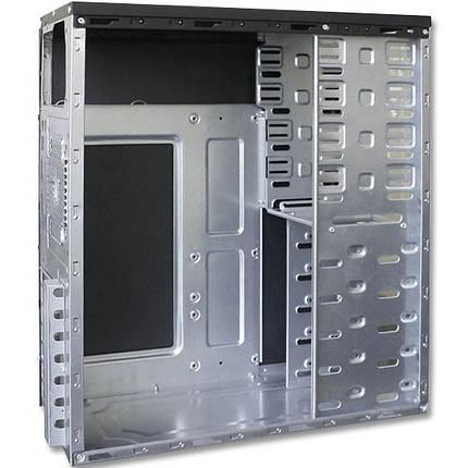 Игровой корпус компьютерный LOGICPOWER 0066 bc ATX системник с блоком питания 450 W куллер 120 мм (Черный), фото 2