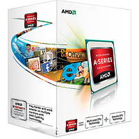 Процессор компьютерный AMD A4 6300 3.7GHz / 1 MB/ sFM2 / AD 6300OKHL BOX + графика AMD Radeon HD8370D для пк