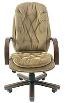 Кресло Венеция Вуд Орех механизм Мультиблок, ткань Мисти Mocco (Richman ТМ), фото 2