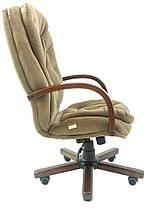 Кресло Венеция Вуд Орех механизм Мультиблок, ткань Мисти Mocco (Richman ТМ), фото 3