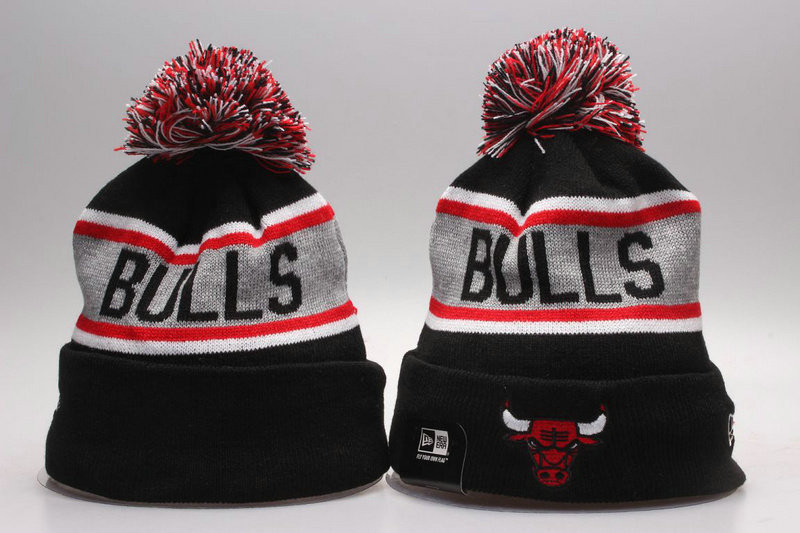 Шапка зимняя Chicago Bulls / SPK-237 (Реплика)